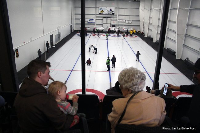 NEC Contractors / CRC Open Camp Curling Rink